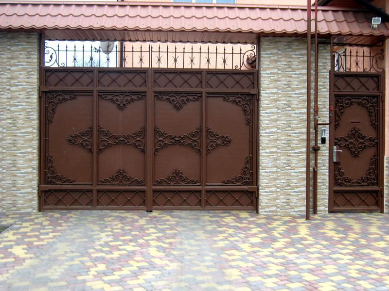 ворота для частного дома фото в узбекистане хочу красивых